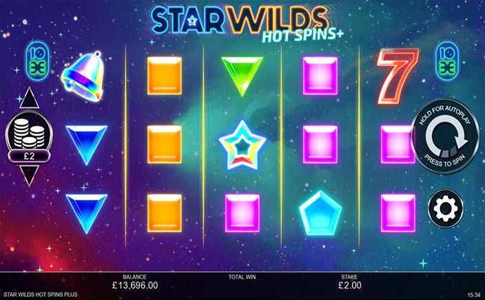 Star Wilds Hot Spins